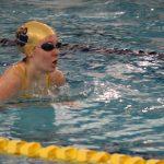 Girls Varsity Swimming falls to Goshen 101 – 85