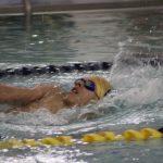 Boys Varsity Swimming beats Goshen 96 – 87