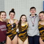 NP Divers compete at Mishawaka Dive Invite