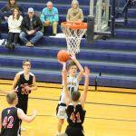 NP Freshman Basketball beats John Glenn 27 – 22