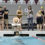 Girls Varsity Swimming finishes 7th place at IHSAA Girls Sectional Finals