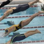 Girls Swimming & Diving @ IHSAA Sectional Finals 2/2/19  (Photo Gallery)
