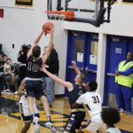 Boys Varsity Basketball falls to James Whitcomb Riley 59 – 44