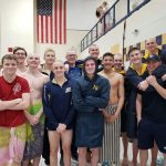 Boys Varsity Swimming finishes 4th place at IHSAA Boys Sectional Finals