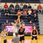 Boys Varsity Basketball beats Westville 45 – 42