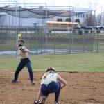 Girls Varsity Softball falls to LaPorte 3 – 2