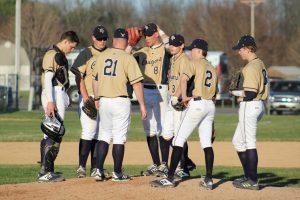 Varsity Baseball vs. South Bend St. Joe  4/8/19  (Photo Gallery 1 of 2)