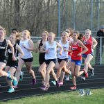 NP Girls Track & Field hosts Penn and South Bend Adams