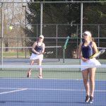 Girls Varsity Tennis beats John Glenn 4 – 1