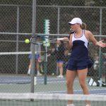 Girls Varsity Tennis falls to Marian 3 – 2