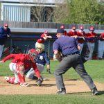 New Prairie Junior Varsity Baseball beats South Bend Adams 3 to 1.