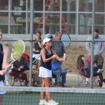 Girls Varsity Tennis falls to Elkhart Central 4 – 1