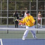 Girls Varsity Tennis beats New Buffalo 8 – 0