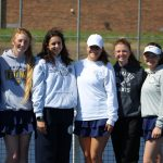 Girls Tennis vs. Buchanan  5/13/19  (Photo Gallery)