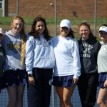 Girls Varsity Tennis beats Buchanan 7 – 1