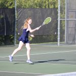 Girls Varsity Tennis beats Michigan City 3 – 2
