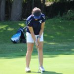 LADY COUGARS SPLIT FIRST NIC CONFERENCE GOLF MATCH