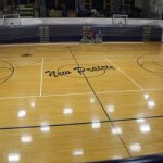 NPHS Main Gym Resurfacing Project   8/5/19  (Photo Gallery)