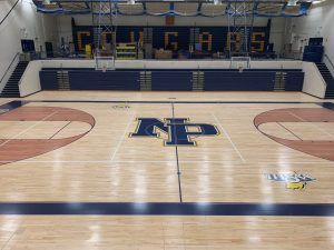 NPHS Main Gym Resurfacing Project   8/5/19  (Photo Gallery)