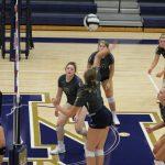 Girls Varsity Volleyball falls to Saint Josephs High School – South Bend 3 – 2