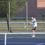 Boys varsity tennis falls to Laporte 5-0