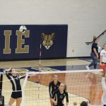 Girls Junior Varsity Volleyball beats James Whitcomb Riley 2 – 0