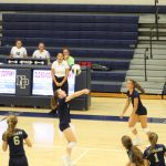 Girls Junior Varsity Volleyball beats Mishawaka Marian 2 – 0