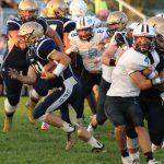 "Herald-Argus article:  New Prairie wins ""bone game"""