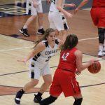 Girls Varsity Basketball falls to Plymouth 56 – 34