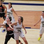 Girls Junior Varsity Basketball falls to LaPorte 55 – 14
