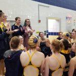 Girls Varsity Swimming falls to Elkhart Central 122 – 64