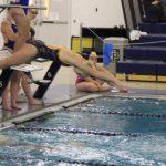 Girls Varsity Swimming falls to South Bend Adams 132 – 54