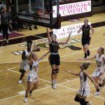 Girls Varsity Basketball beats Mishawaka 61 – 49
