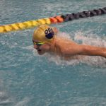 Boys Varsity Swimming beats Saint Joseph 117 – 60