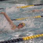 Boys Varsity Swimming beats LaPorte 139 – 41