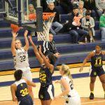 Girls Varsity Basketball falls to James Whitcomb Riley 69 – 40