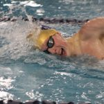 Boys Varsity Swimming beats South Bend Adams 133 – 36