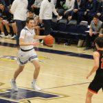 Boys Varsity Basketball falls to Mishawaka Marian 65 – 47