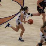 Girls Varsity Basketball beats Jimtown 40 – 28