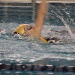 Girls Varsity Swimming beats Bremen 130 – 47
