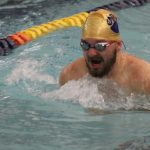 Boys Varsity Swimming beats South Bend Washington 134 – 34