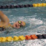 Girls Varsity Swimming beats NorthWood 112 – 73