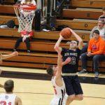 Boys Varsity Basketball beats NorthWood 44 – 42