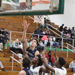 Boys Varsity Basketball falls to Washington High School – South Bend 50 – 34