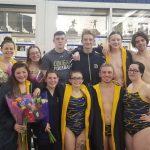 Girls Varsity Swimming beats South Bend Clay 94 – 86