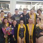 Boys Varsity Swimming beats South Bend Clay 136 – 43