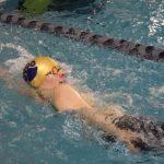 Boys Varsity Swimming falls to Elkhart Central 99 – 86