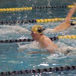 Boys Varsity Swimming falls to South Bend Riley 100 – 83