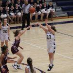 Girls Varsity Basketball falls to Mishawaka Marian 85 – 23