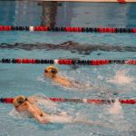 Girls Varsity Swimming competes well against Goshen and East Noble